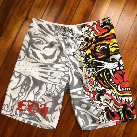 4d364210c5 Ed Hardy Other - Ed Hardy men's swimming shorts